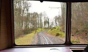 Fahrt mit der Drachenfelsbahn