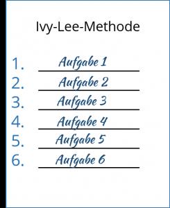 Ivy-Lee-Methode